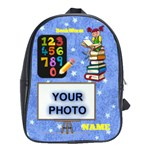 Girl s Fun in School large bookbag - School Bag (Large)