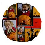 helloween - Large 18  Premium Round Cushion