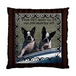 Bulldog pillow - Standard Cushion Case (Two Sides)