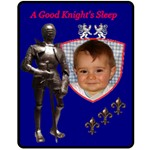 A Good Knight - Fleece Blanket (Medium)