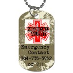 Camo Dog Tags - Dog Tag (Two Sides)