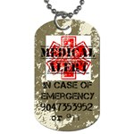 medicalalert - Dog Tag (Two Sides)