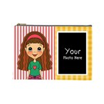 Brown Hair Bag - Cosmetic Bag (Large)