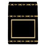 Black and Gold Removable Flap Cover (Large) - Removable Flap Cover (L)