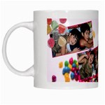 candy hearts & gumdrops - White Mug