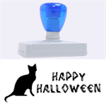 Happy Helloween stamp XL - Rubber Address Stamp (XL)