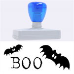 Boo Helloween stamp XL - Rubber Address Stamp (XL)