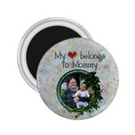 heart mommy mag 2.25 - 2.25  Magnet