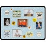 Grandma and Grandpa XLarge Fleece Blanket - Fleece Blanket (Large)