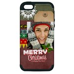 xmas - Apple iPhone 5 Hardshell Case (PC+Silicone)