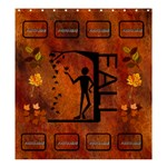 Fall large shower curtain - Shower Curtain 66  x 72  (Large)