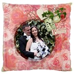 La Vie 20 inch double sided cushion - Large Cushion Case (Two Sides)