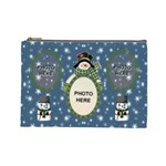 Snow Days large cosmetic bag - Cosmetic Bag (Large)