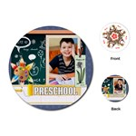 back to school - Playing Cards Single Design (Round)