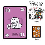 Monsters deck A - Playing Cards 54 Designs (Rectangle)