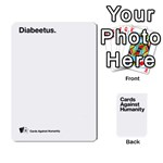 CaH White Deck 5 - Playing Cards 54 Designs
