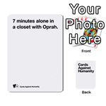CaH White Deck 4 - Playing Cards 54 Designs (Rectangle)