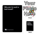 CaH Black Cards 4 - Playing Cards 54 Designs