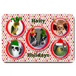 Hatty Holidays large doormat