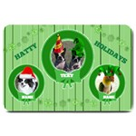 Hatty Holiday large doormat