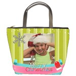 Christmas bag Mariah - Bucket Bag