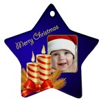 My Little Star 2 Ornament (2 sided) - Star Ornament (Two Sides)
