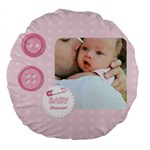 baby - Large 18  Premium Round Cushion