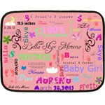 sweetness - Fleece Blanket (Mini)