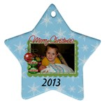 2013 Star Ornament 2 - Ornament (Star)