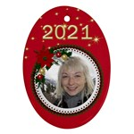 Oval Christmas Ornament - Ornament (Oval)