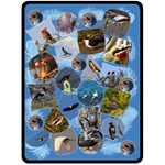 Shara Bird Blanket - Fleece Blanket (Large)