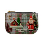 NO FRAME Stocking Stuffer Remember When Santa Merry Christmas mini coin purse