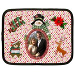 Happy Holidays XL netbook case - Netbook Case (XL)