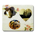 pet-trio - Large Mousepad
