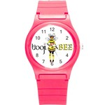 boojiwatch - Round Plastic Sport Watch (S)