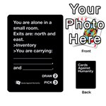 CaH Black Cards 5 - Playing Cards 54 Designs (Rectangle)
