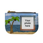 Palm Tree Mini Coin Purse