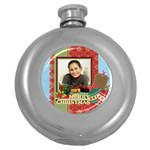 merry christmas - Hip Flask (5 oz)