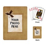 And to All a Good Night Playing Cards 4 - Playing Cards Single Design
