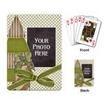 Peace Joy Love Playing Cards 1 - Playing Cards Single Design (Rectangle)