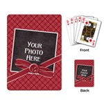 Peace Joy Love Playing Cards 2 - Playing Cards Single Design (Rectangle)
