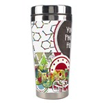 Learn Discover Explore Tumbler 2 - Stainless Steel Travel Tumbler