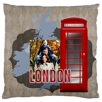 travel - Large Cushion Case (Two Sides)