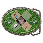 Golfer s Belt Buckle #4