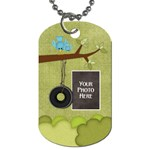 At the Park 1 sided Dog Tag 3 - Dog Tag (One Side)