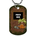 Prehistoric 2 sided Dog tag 1 - Dog Tag (Two Sides)
