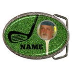 Golfer s Belt Buckle with name