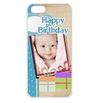 happy birthday - iPhone 5 Seamless Case (White)