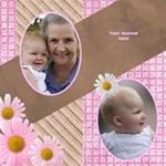 Family memories Scrapbook page 12x12 - ScrapBook Page 12  x 12