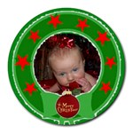 Wreath round mousepad #2